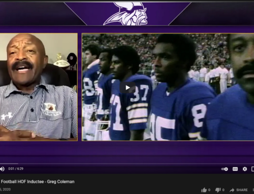 Greg Coleman inducted into the Black College Football Hall of Fame